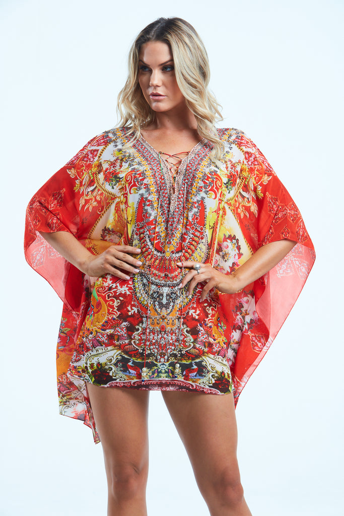 ENDLESS STORIES KAFTAN TOP