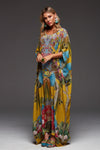 REFUSE TO BE ORDINARY ROUND NECK LONG KAFTAN