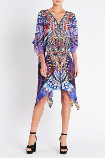 FLY WITHOUT FEATHERS SHORT KAFTAN W SLIT