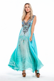 FEEL THE BREEZE MAXI-DRESS