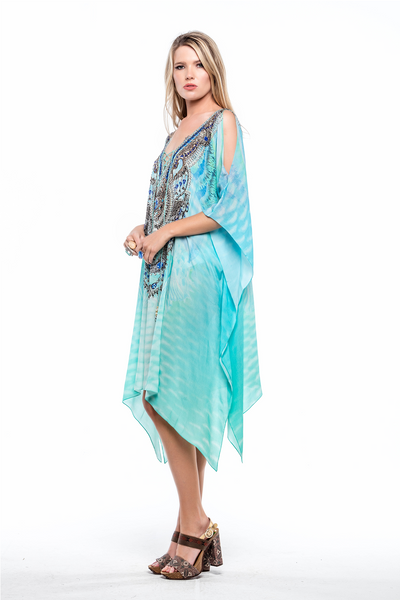 FEEL THE BREEZE KAFTAN W SLIT