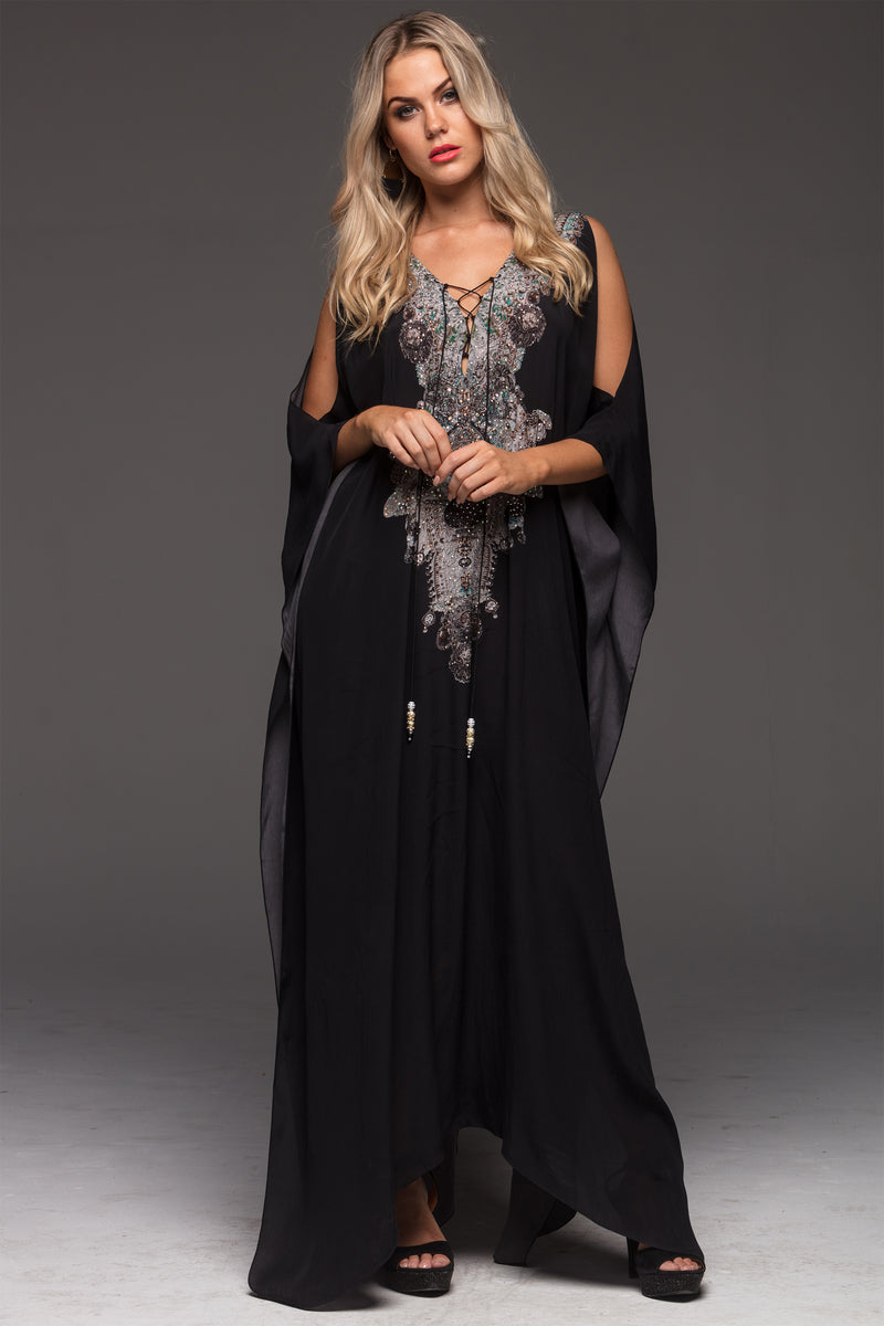 ALICE LONG KAFTAN W SLIT