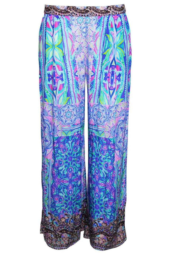 BED OF FLOWERS PALAZZO PANTS - Czarina