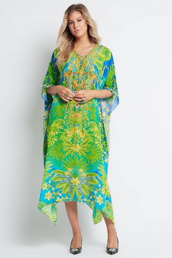 BETWEEN THE RAINDROPS MEDIUM KAFTAN - Czarina