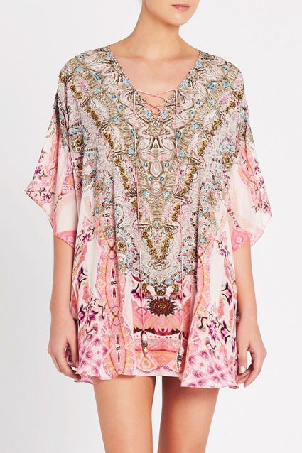 Bohemian Blush Butterfly Top - Czarina