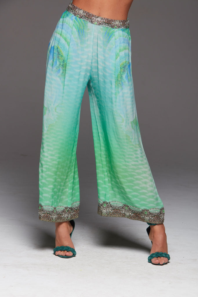 BY THE OCEAN PALAZZO PANTS - Czarina