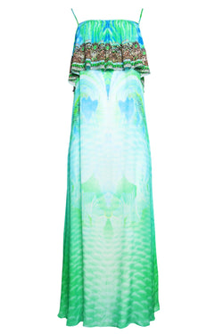 BY THE OCEAN SHOE-STRING SLEEVELESS DRESS - Czarina