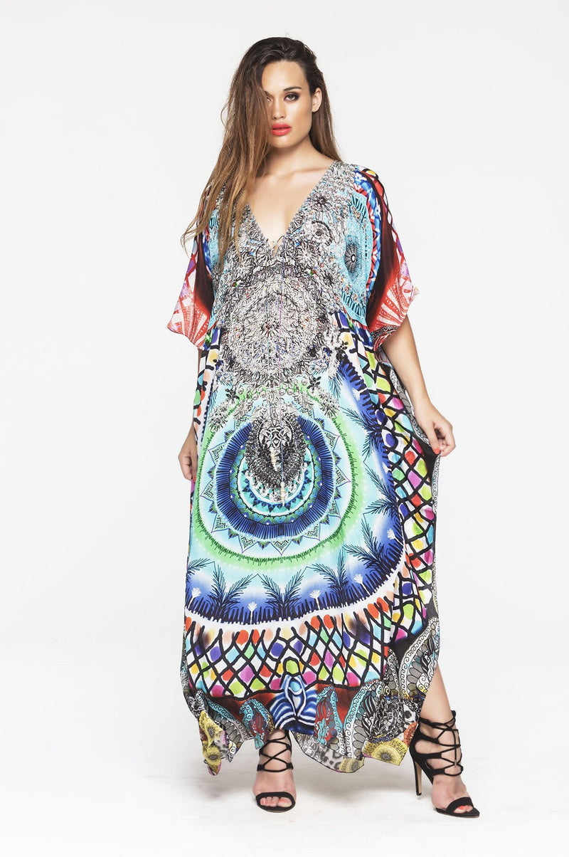 CIRCLE OF LIFE LONG KAFTAN - Czarina
