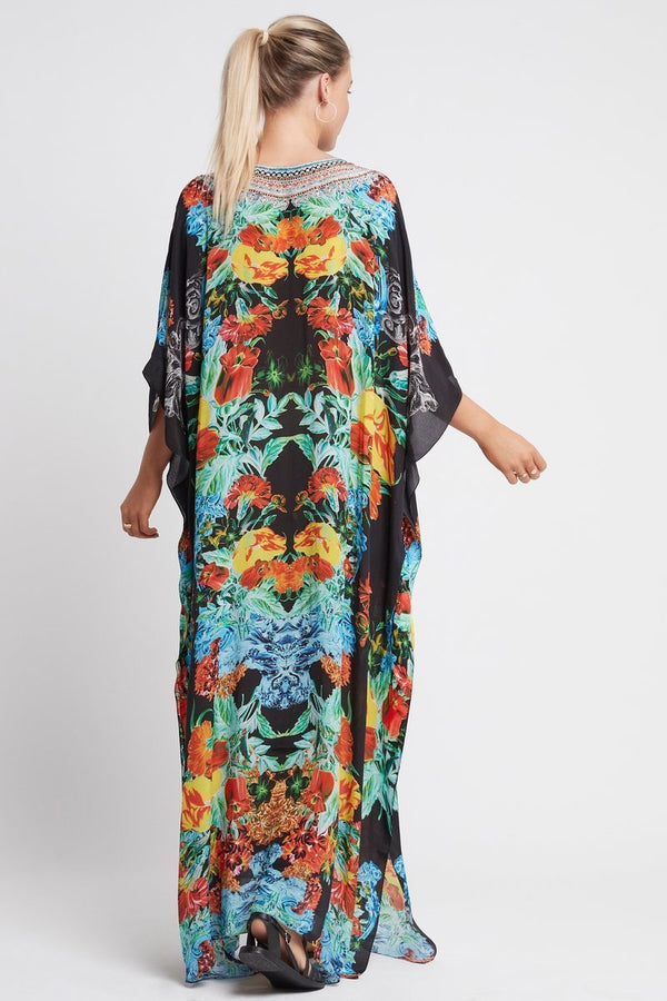 CUBAN NIGHTS LONG KAFTAN - Czarina