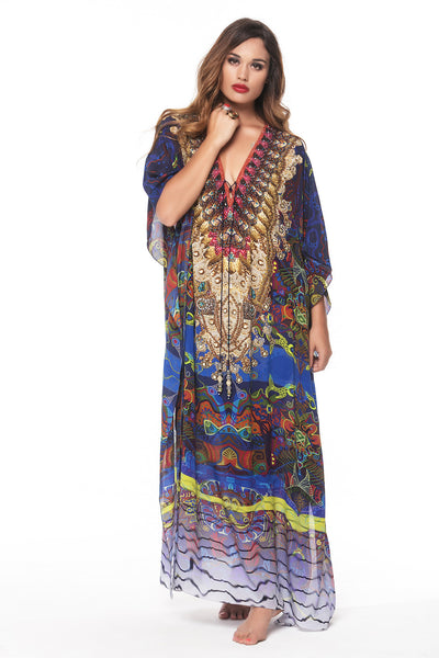 PICASSO LONG KAFTAN