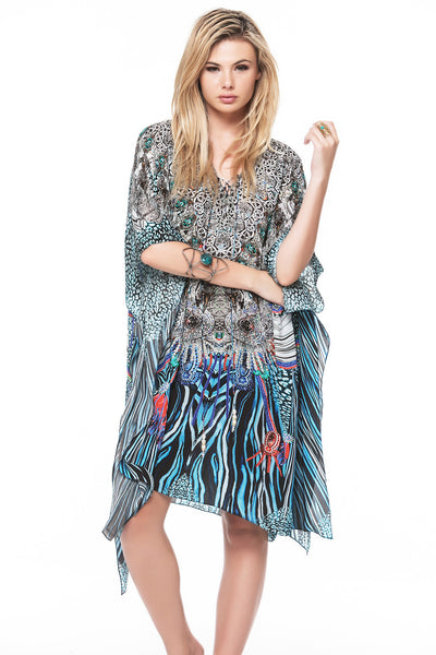 INCARNATE SHORT KAFTAN
