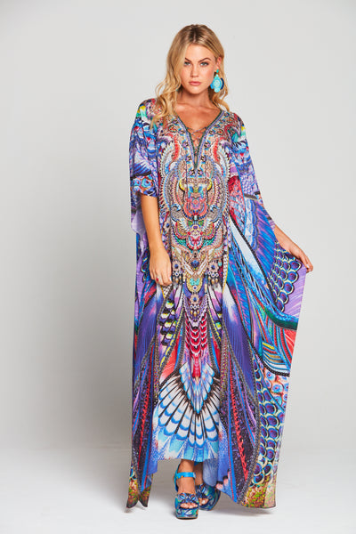 FLY WITHOUT FEATHERS LONG KAFTAN