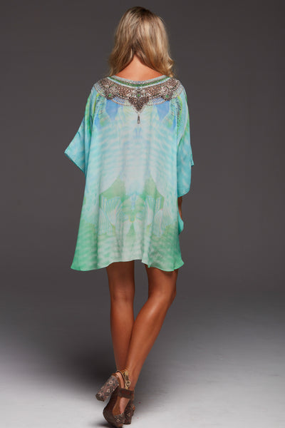 BY THE OCEAN BUTTERFLY TOP