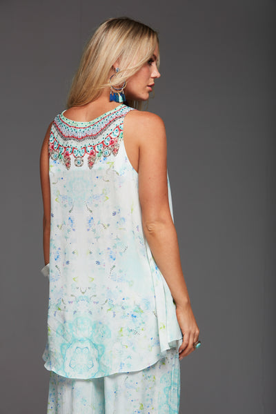 SUMMER DREAM V-NECK TANK TOP