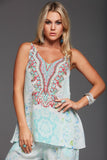 SUMMER DREAM V-NECK CAMI TOP