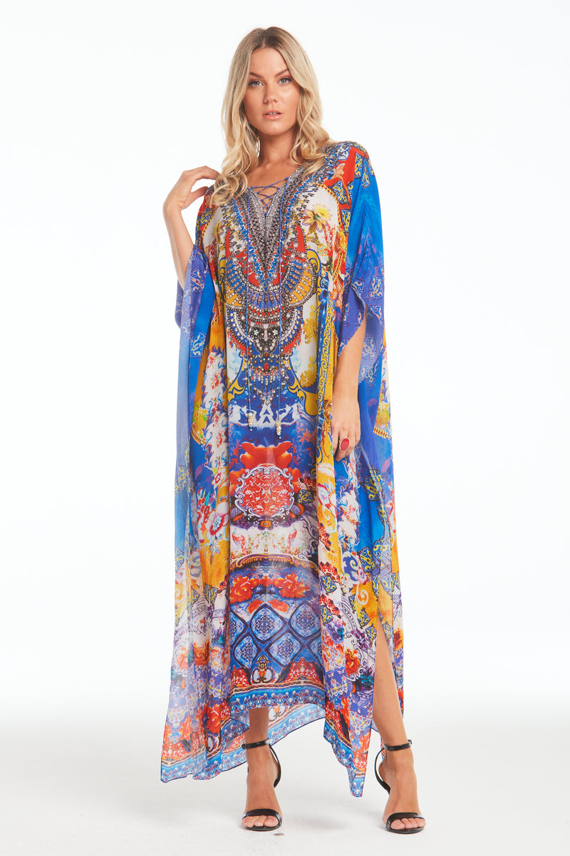 LIVE IN THE MOMENT MEDIUM KAFTAN