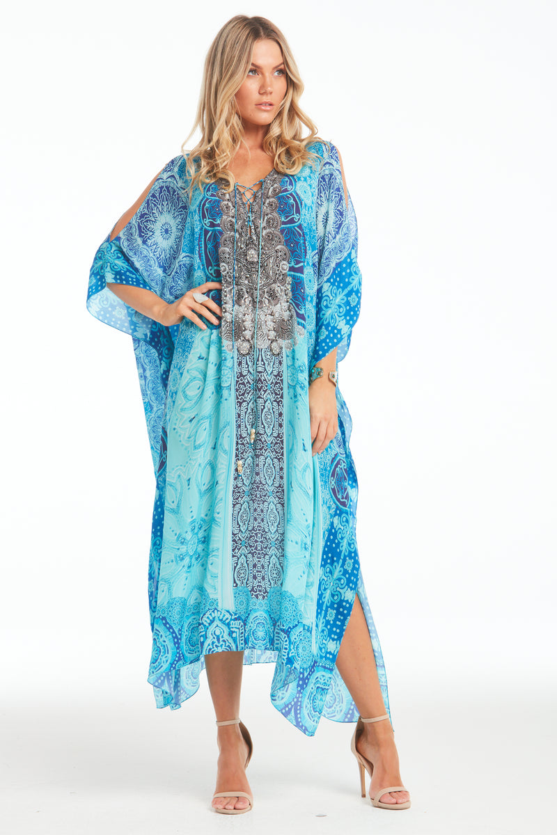 SAIL AWAY MEDIUM KAFTAN W SLIT