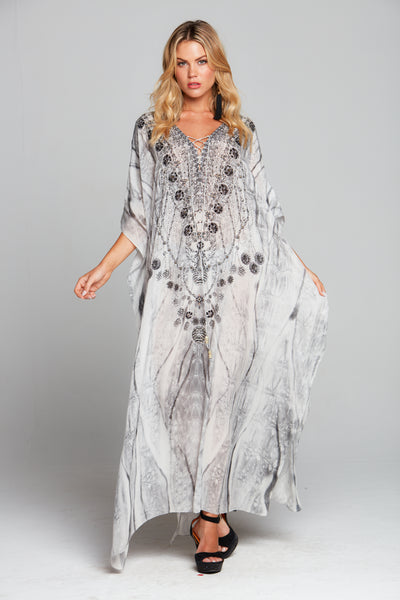 POISONOUS LOVE LONG KAFTAN