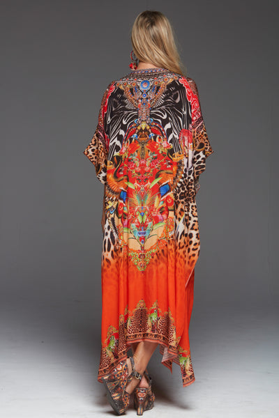 SUNSET IN SAVANNAH MEDIUM KAFTAN