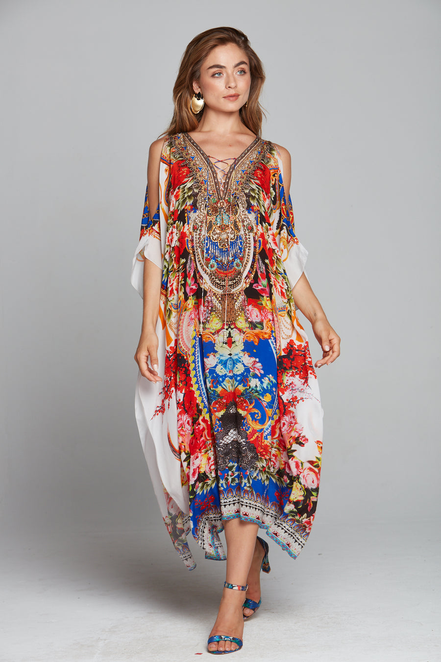 ROYAL PRINCESS MEDIUM KAFTAN W SLIT