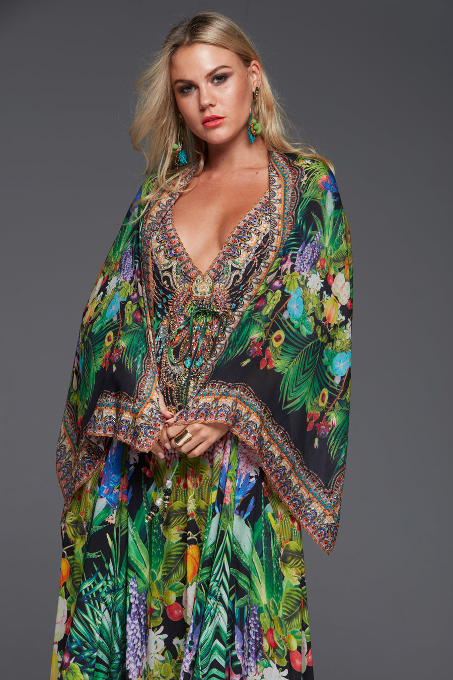 TROPICAL LOVE SCARF