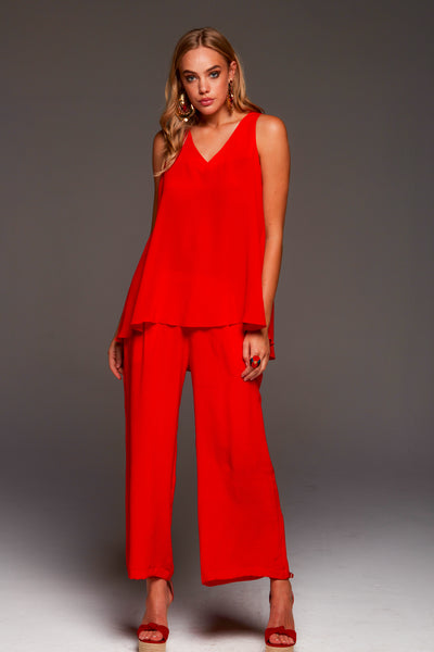 SIMPLY RED PALAZZO PANTS