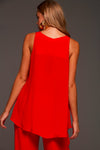 SIMPLY RED TANK TOP