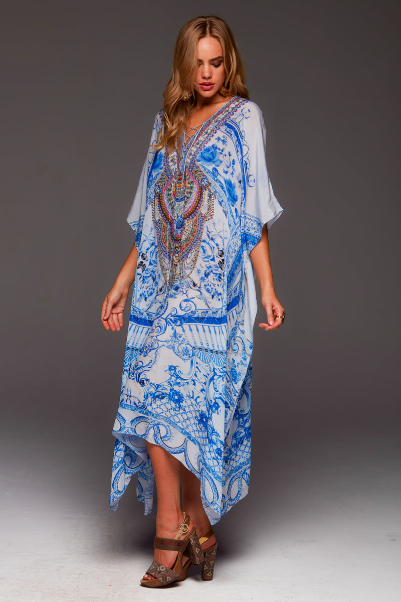 A DAY IN GREECE MEDIUM KAFTAN
