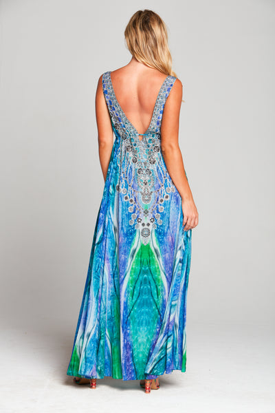 STAIRWAY TO HEAVEN MAXI DRESS