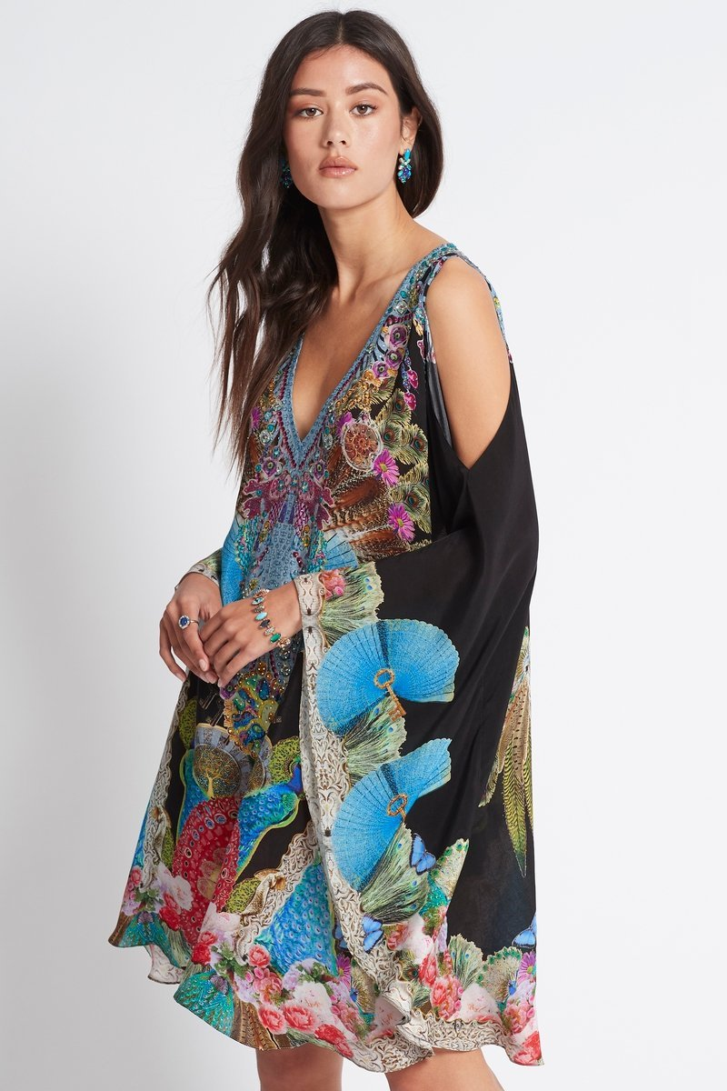 DANCING QUEEN KAFTAN DRESS - Czarina