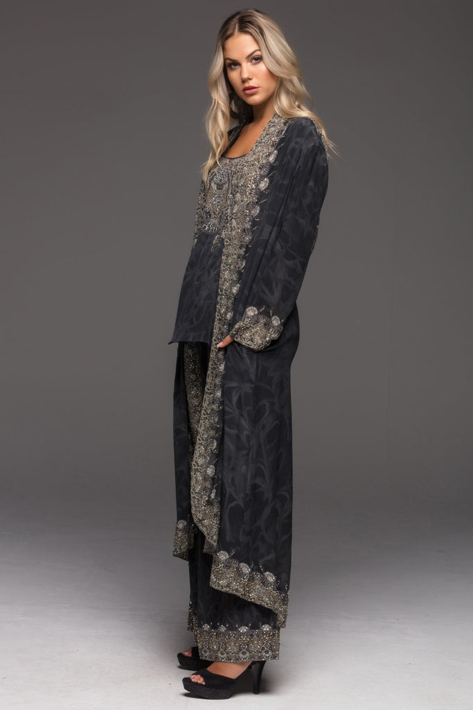 DARK CHEROKEE LONG JACKET - Czarina