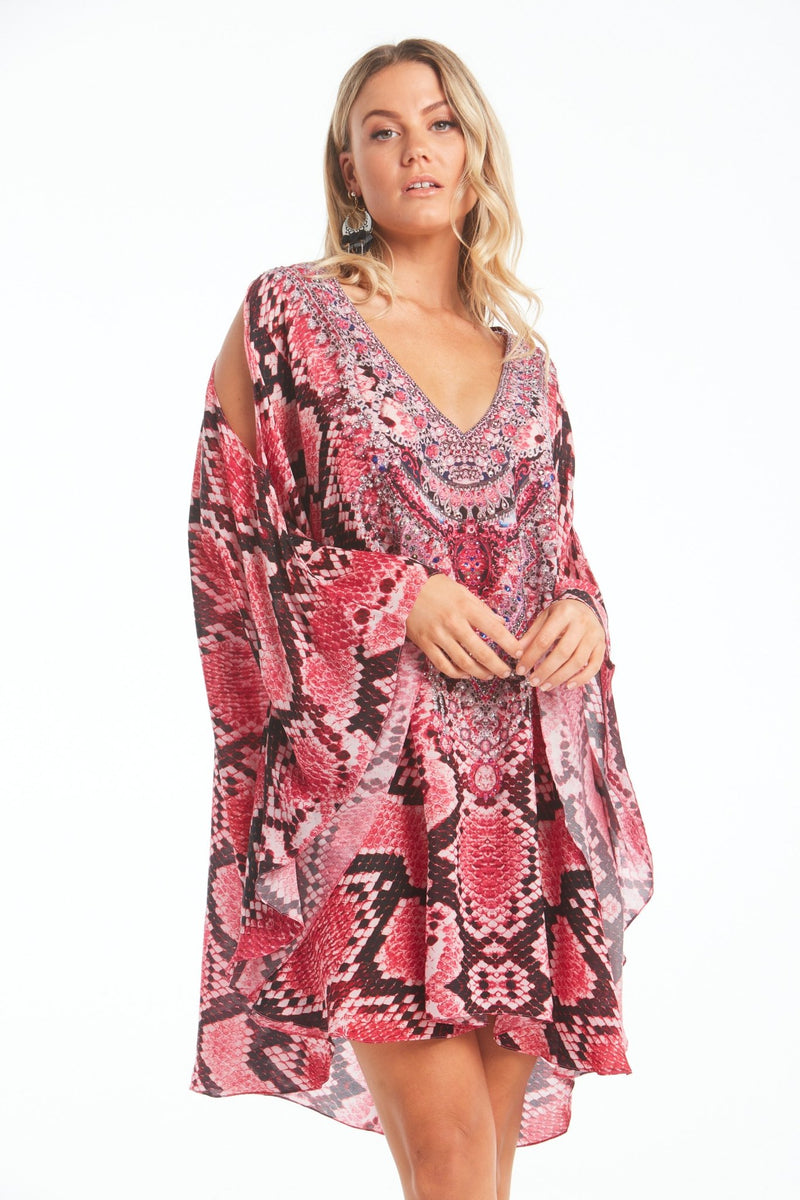 DESERT ROSE KAFTAN DRESS - Czarina