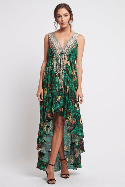 EMERALD QUEEN - HI LOW DRESS - Czarina