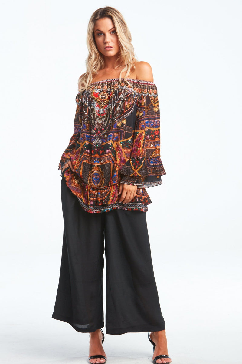 EMPOWER YOURSELF OFF SHOULDER TOP - Czarina