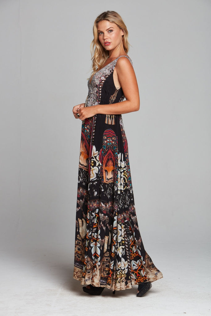 ENCHANTED MAXI DRESS - Czarina