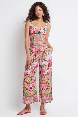 Every Flower Blossoms Palazzo Pants - Czarina