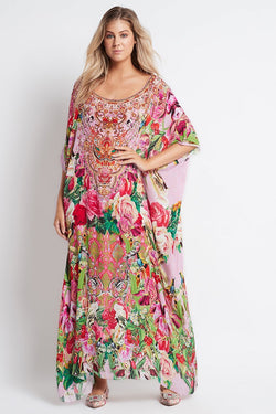 Every Flower Blossoms RN Long Kaftan - Czarina
