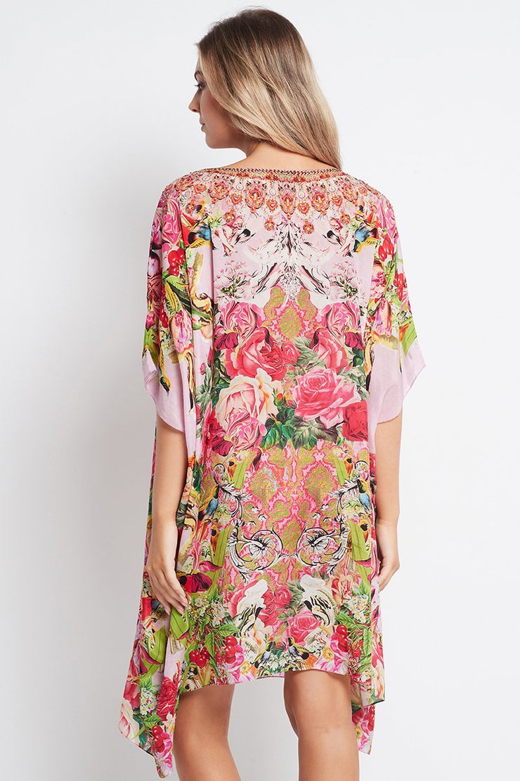 Every Flower Blossoms RN Short Kaftan - Czarina
