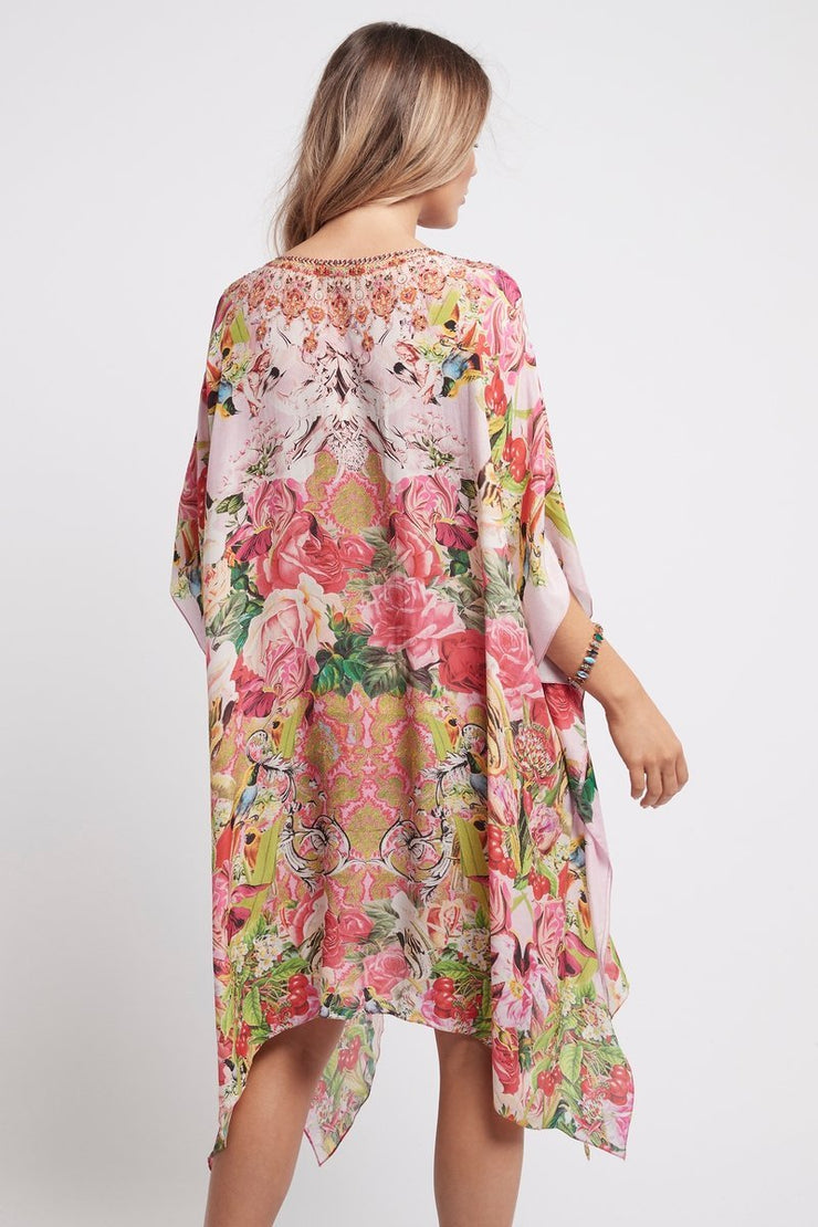 Every Flower Blossoms Short Kaftan - Czarina
