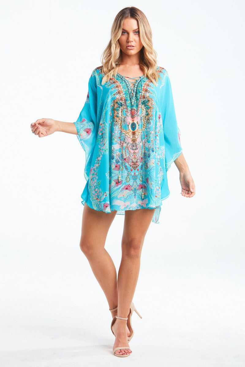 FEEL THE SKY BUTTERFLY TOP - Czarina