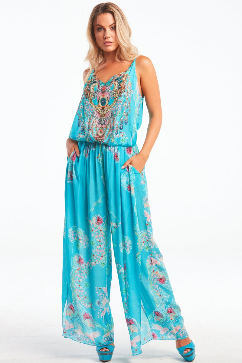FEEL THE SKY JUMPSUIT - Czarina