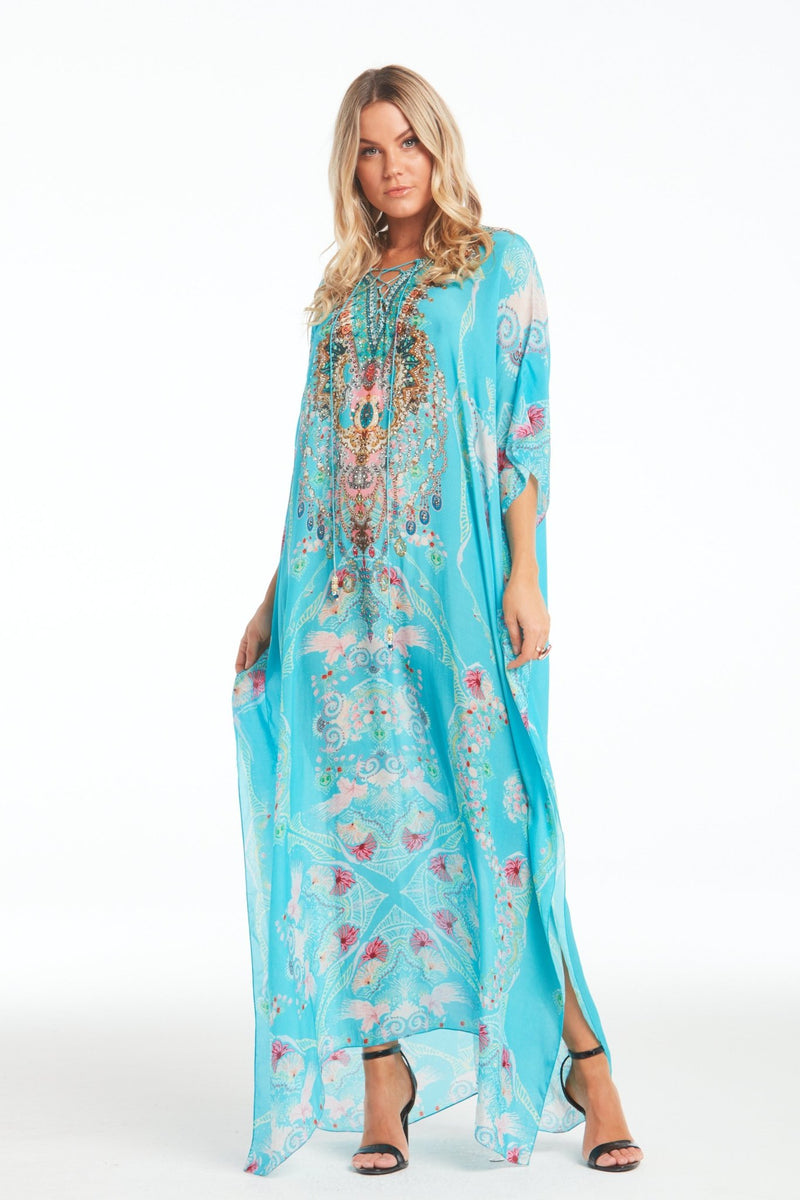 FEEL THE SKY LONG KAFTAN - Czarina