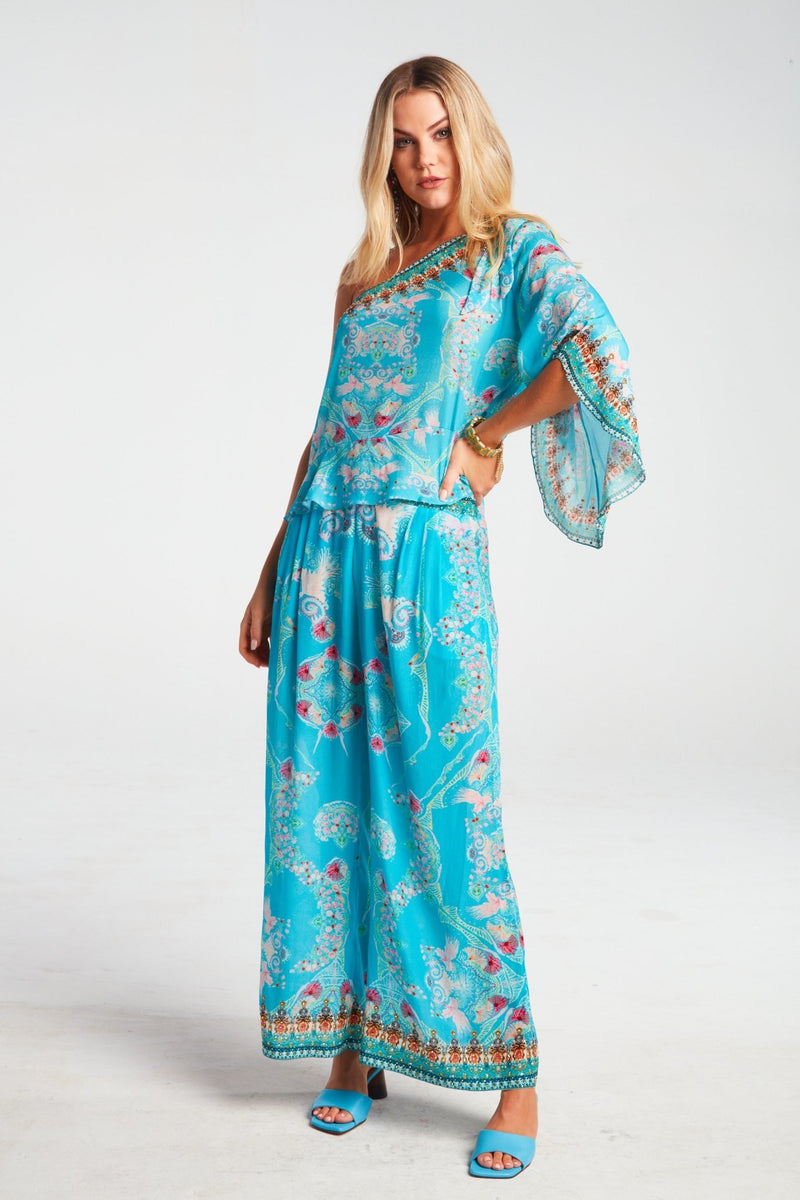 FEEL THE SKY PALAZZO PANTS - Czarina