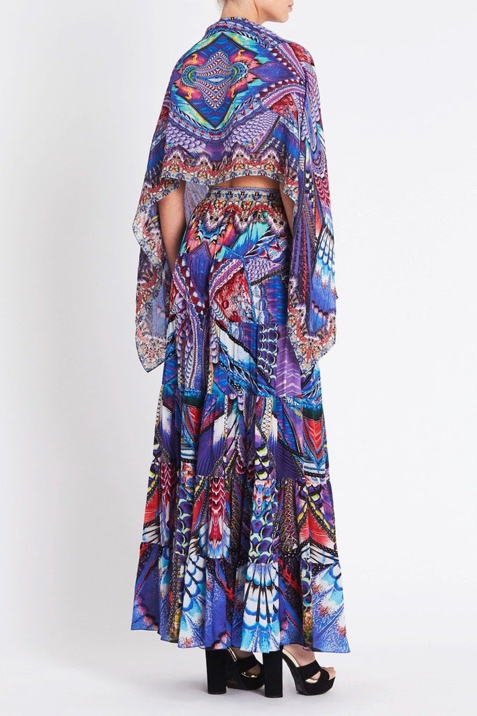 FLY WITHOUT FEATHERS MAXI SKIRT - Czarina