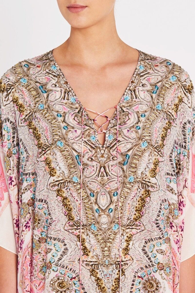BOHEMIAN BLUSH MEDIUM KAFTAN