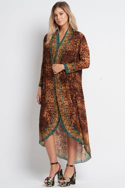 GAIA LONG JACKET - Czarina