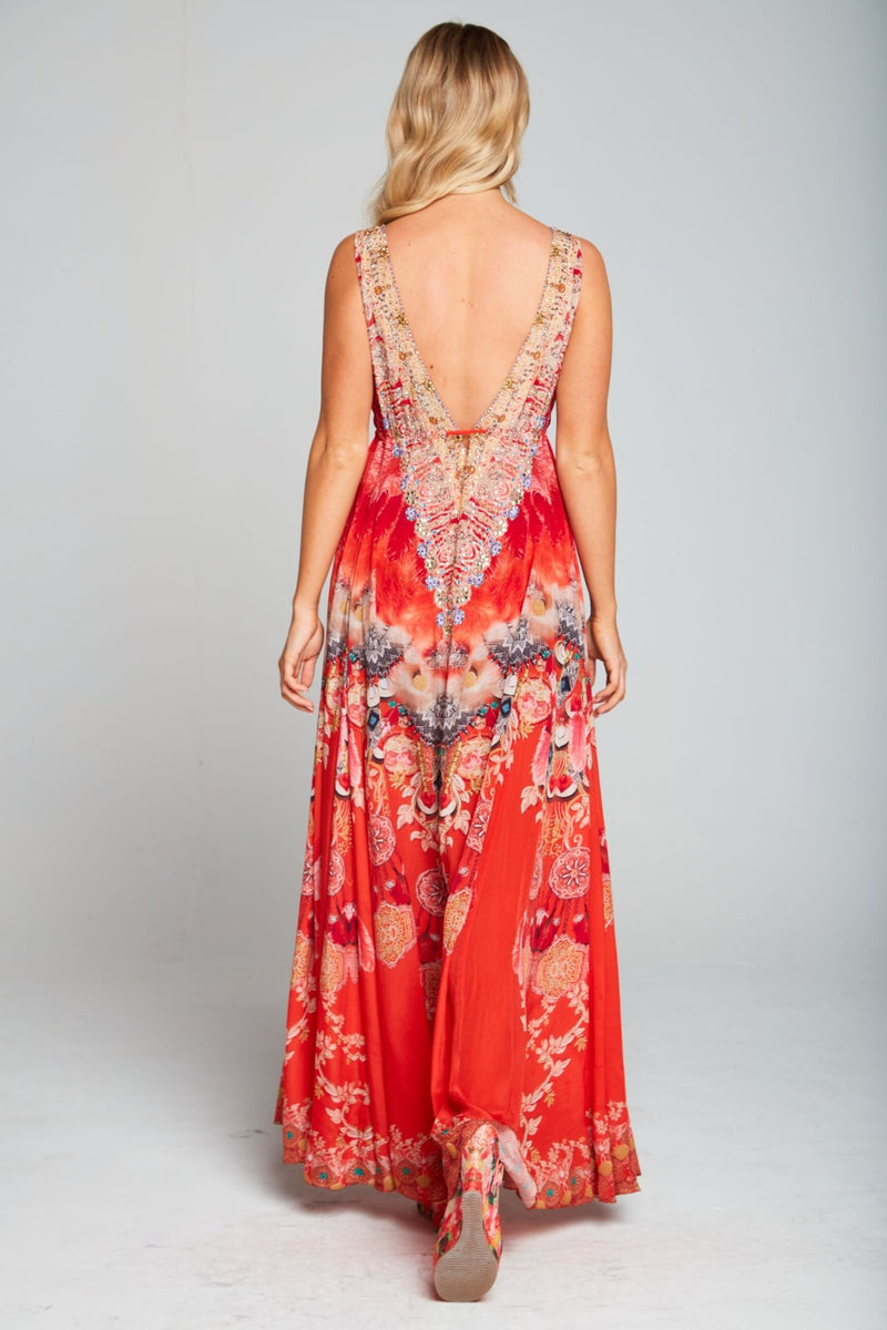 GODDESS MAXI DRESS - Czarina