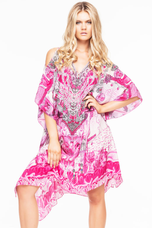 ROUSE SHORT KAFTAN WITH SLIT