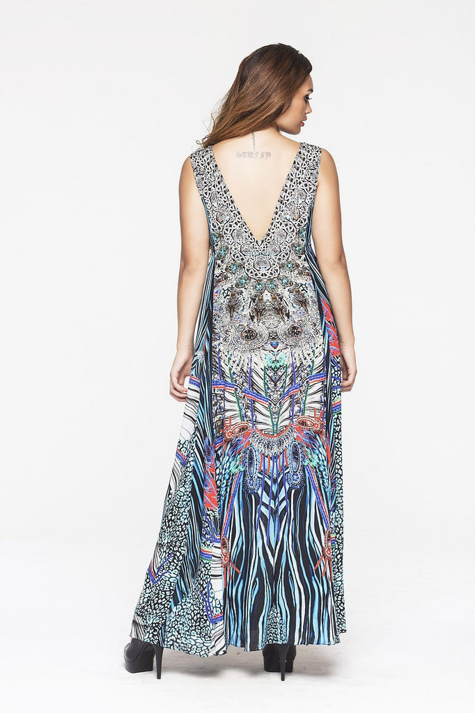 INCARNATE MAXI DRESS - Czarina
