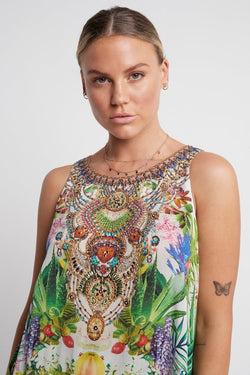 LOVE IN PARADISE CAMI TOP - Czarina